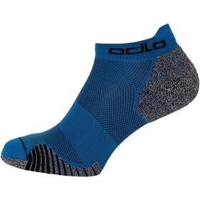 Odlo Ceramicool Run Socks Low, mykonos blue